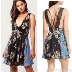 Free People Thought I Was Dreaming Mini Dress XS